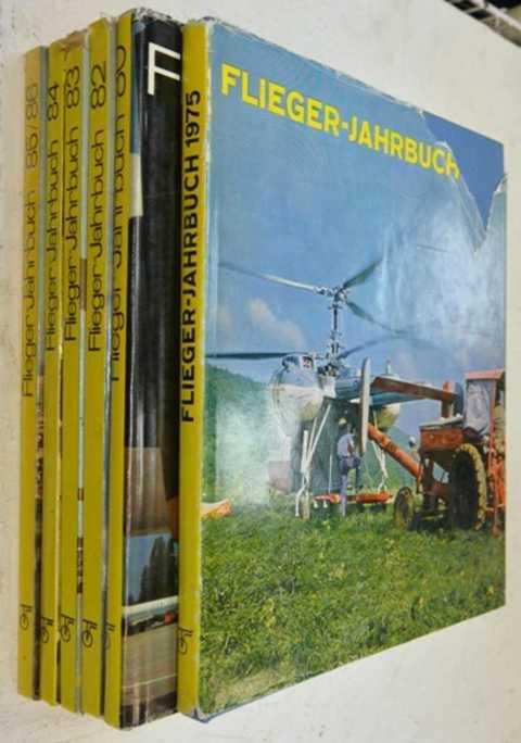 Flieger-Jahrbuch / Ежегодник Авиация. Комплект из 6-ти книг